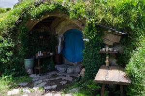 Seen as Hobbiton in The Lord of the Rings and The Hobbit. http://moviemaps.org/locations/130